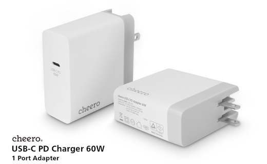 cheero USB-C PD Charger 60W
