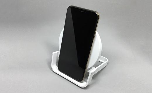 BOOST↑UP ワイヤレス充電スタンド(10W、micro-USBケーブル&ACアダプター付き)