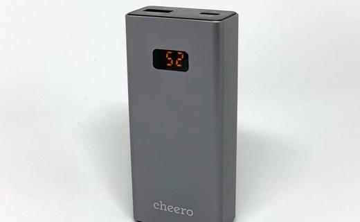 バッテリー残量デジタル表示