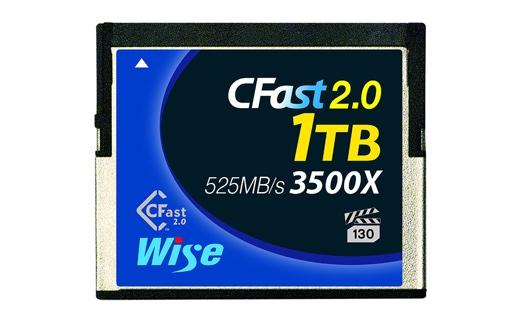 Wise CFast 2.0 メモリーカード1TB