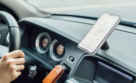 moshi、マグネット式のiPhone対応カーマウント「SnapTo Car Mount」2モデルを発売 ‒ ワイヤレス充電対応モデルも