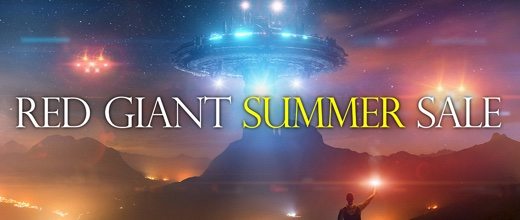 Red Giant Summer Sale