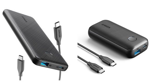 Anker PowerCore Slim 10000 PD、Anker PowerCore 10000 PD Redux