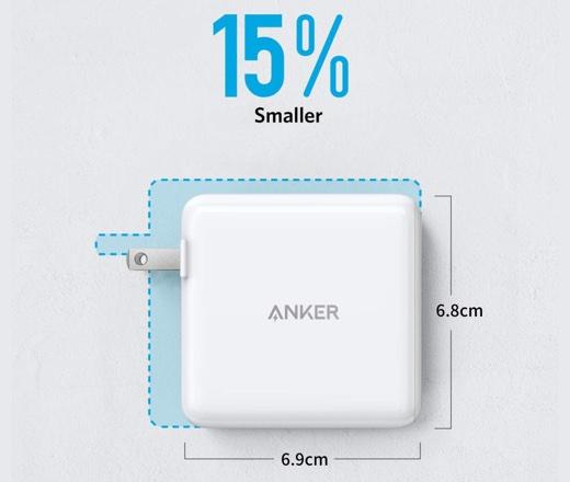 Anker PowerPort Atom PD 2 サイズ