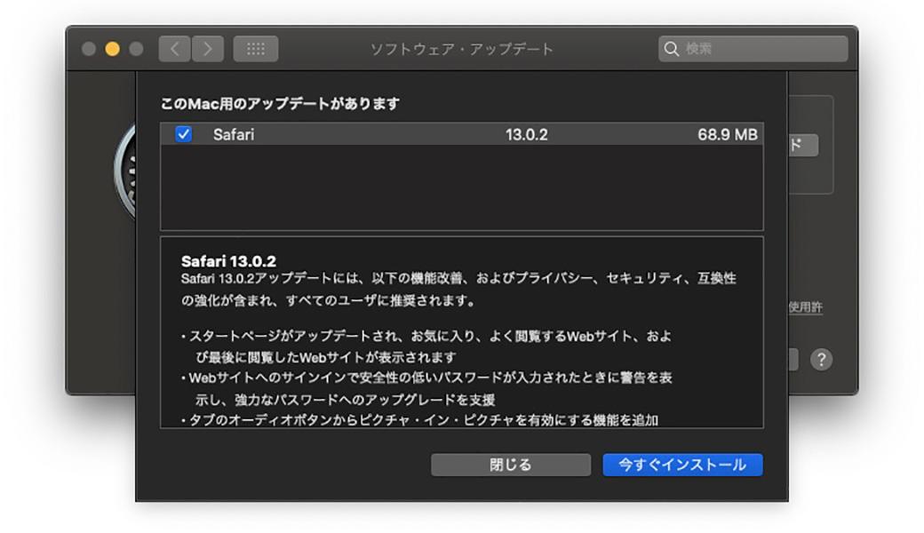 Safari 13.0.2