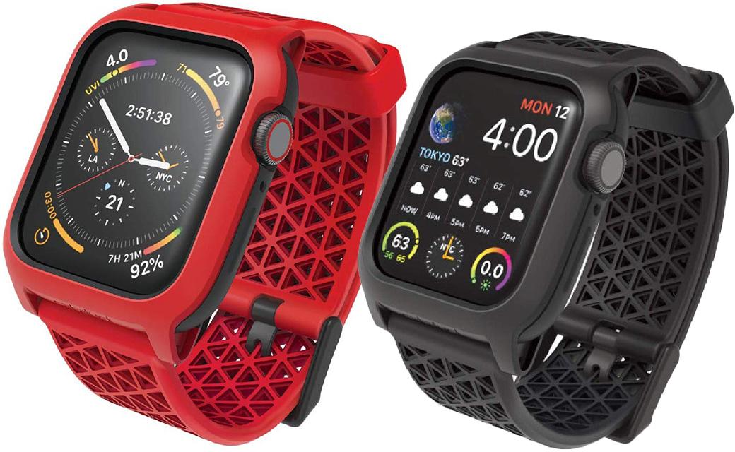 トリニティ、MILスペックの「Catalyst 衝撃吸収ケース」にApple Watch Series 5/4対応モデルを追加