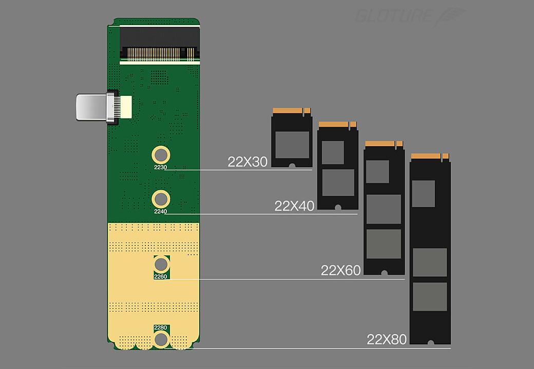 対応SSDサイズ