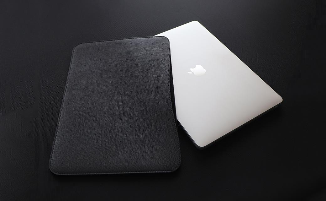 職人が作るレザースリーブ 16インチMacBook Pro用