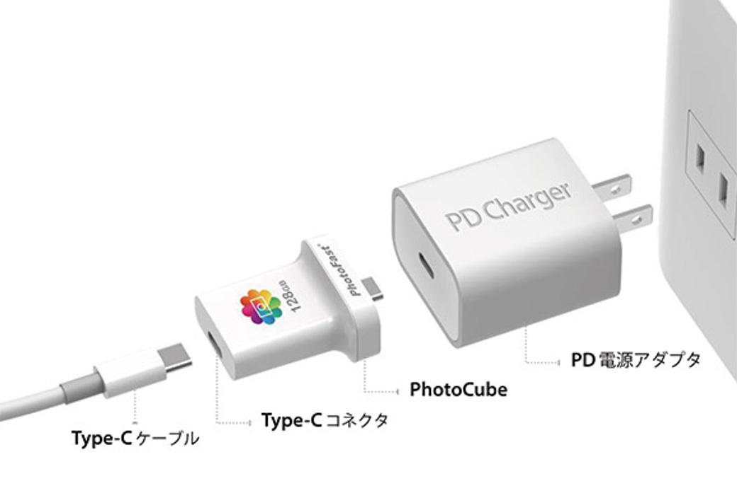 PhotoCube C接続方法