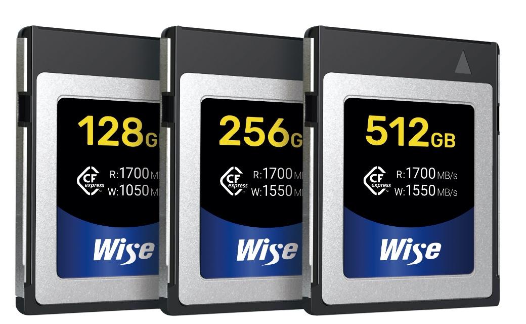 Wise CFexpress Type B カード CFX-Bシリーズ