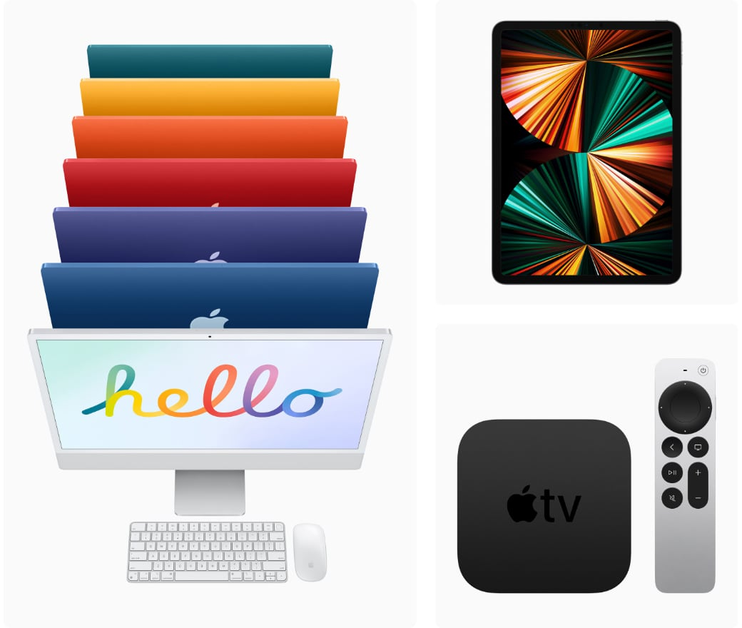 iMac iPad Pro and Apple TV 4k in stores friday