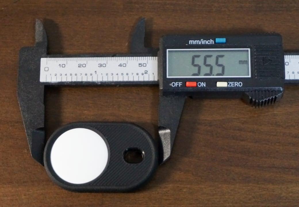 高さは55.5mm