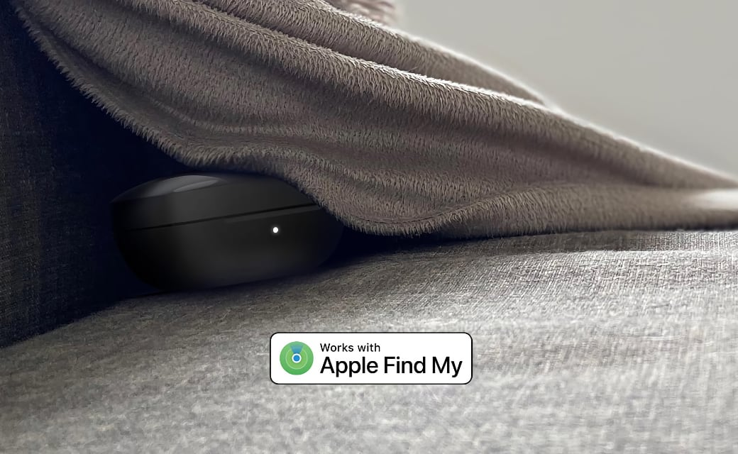 Works with Apple Find My