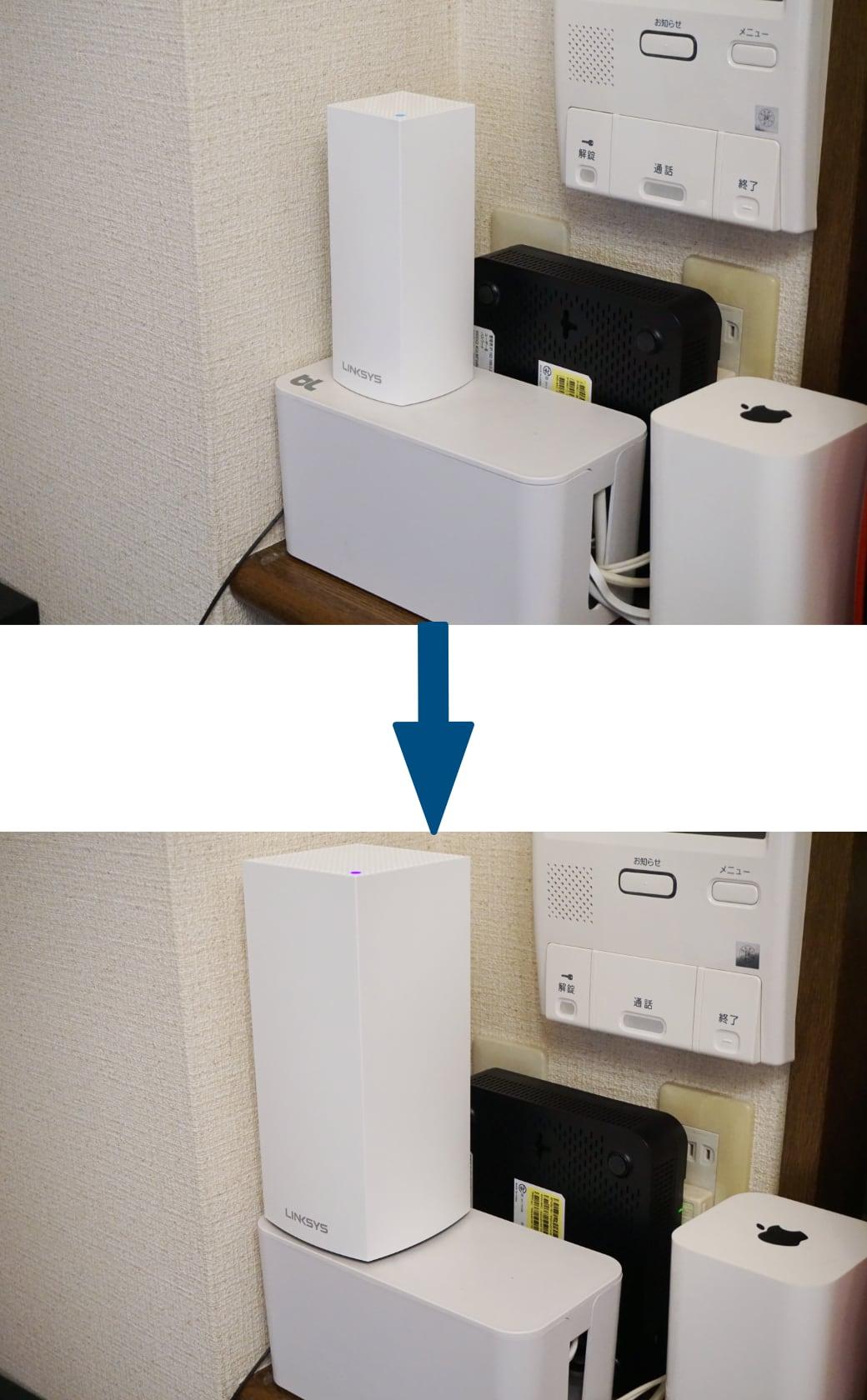 AC2200からMX5300に置き換え