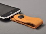iPhoneループストラップ(ナチュラルレザー)