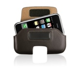 HipCase for iPhone Brown Leather