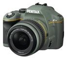 PENTAX K-m olive レンズキット