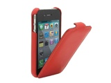 iPhone4 Leather RED