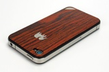 TRUNKET wood skin for iPhone4 オレンジ