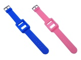 CRYSTAL CASE + Wrist band SET For 6th iPod nano
