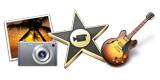 iPhoto、iMovie、GarageBand