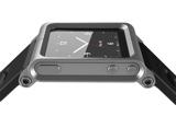 LunaTik 腕時計化キット for iPod Nano 6G - シルバー
