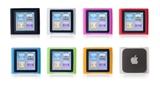 Silicone Case Set for iPod nano (6th)