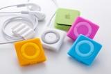 iPod shuffle(4th)用シリコンケースセット